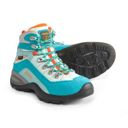 Asolo Enforce GV JR Gore-Tex® Hiking Boots - Waterproof (For Little and Big Kids) in Peacock Blue/Poolside - Closeouts