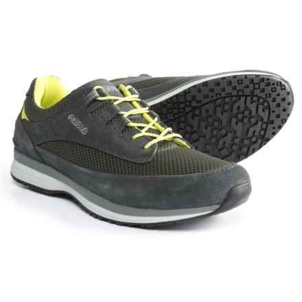 Asolo Equinox Shoes - Suede (For Men) in Shark/Light Black - Closeouts