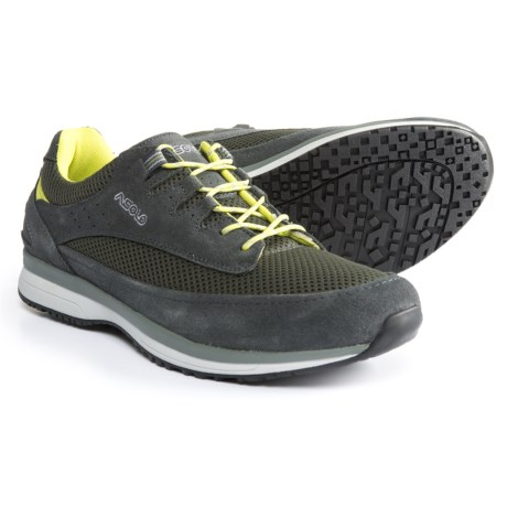 Asolo Equinox Shoes - Suede (For Men) in Shark/Light Black