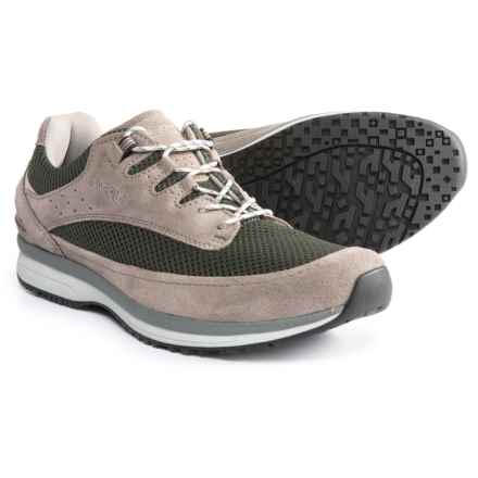Asolo Equinox Shoes - Suede (For Men) in Taupe/Light Black - Closeouts
