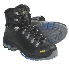 Asolo Ergo Gore-Tex® Hiking Boots - Waterproof, Leather (For Women) in Black/Avio - Closeouts