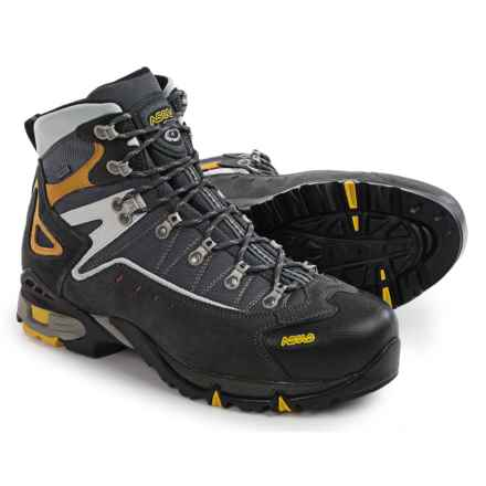 Asolo Flame Gore-Tex® Hiking Boots - Waterproof (For Men) in 623 Graphite/Gunmetal - Closeouts