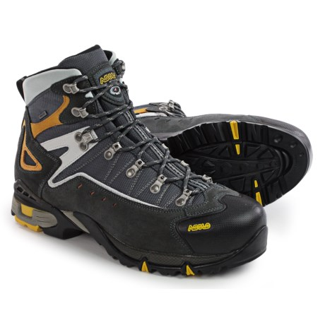 Asolo Flame Gore-Tex® Hiking Boots - Waterproof (For Men) in 623 Graphite/Gunmetal