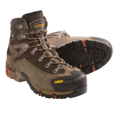 Asolo Flame Gore-Tex® Hiking Boots - Waterproof (For Men) in Cortex/Dark Brown