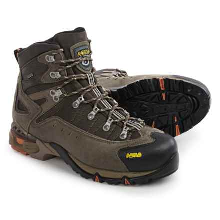 Asolo Flame Gore-Tex® Hiking Boots - Waterproof (For Men) in Cortex/Dark Brown - Closeouts
