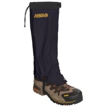 Asolo Front Zip Gaiters - Waterproof (For Men and Women) in Navy - Closeouts