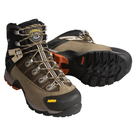 Asolo Fugitive Gore-Tex® Hiking Boots - Waterproof (For Men) in Cortex/Black
