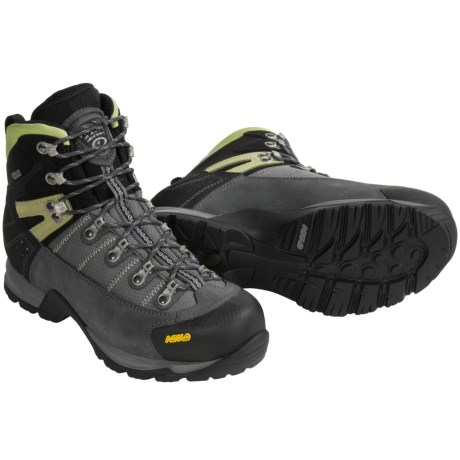 Asolo Fugitive Gore-Tex® Hiking Boots - Waterproof (For Men) in Graphite/Stone