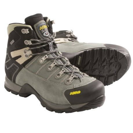 Asolo Fugitive Gore-Tex® Hiking Boots - Waterproof (For Men) in Sage/Black