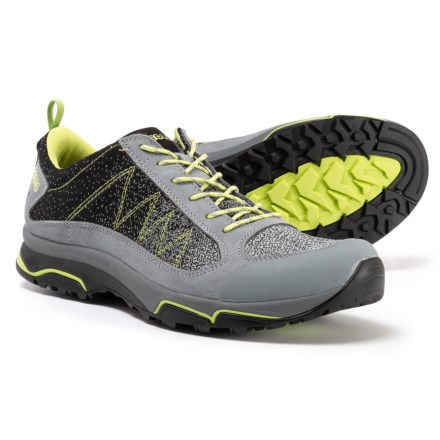 11edcf124 Asolo Fury Hiking Shoes (For Men) in Cloudy Grey Black - Closeouts
