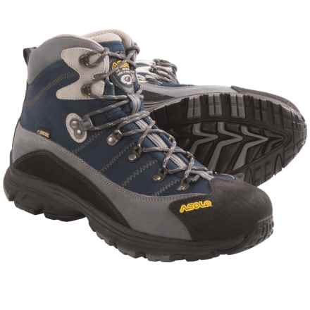 Asolo Horizon 1 Gore-Tex® Hiking Boots - Waterproof (For Men) in A545 Grey/Blue - Closeouts