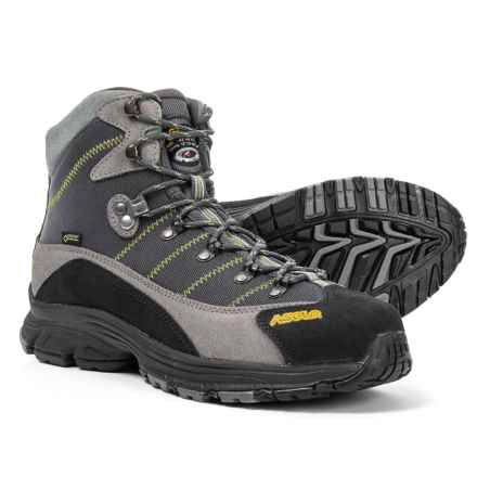 Asolo Horizon 1 Gore-Tex® Hiking Boots - Waterproof (For Men) in Donkey/Gunmetal/English Ivy - Closeouts