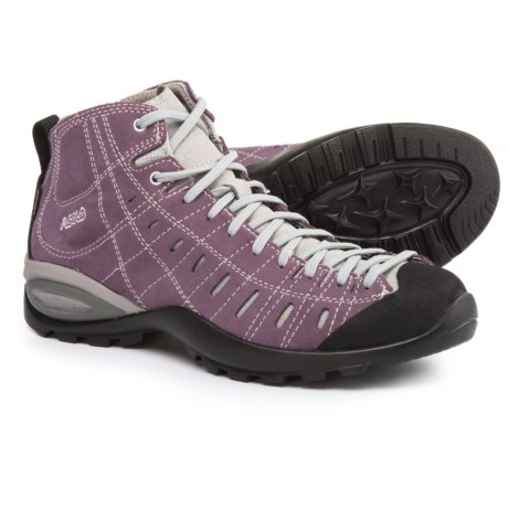 Asolo Iguana GV Gore-Tex® Hiking Boots - Waterproof, Suede (For Women) in Grapeade