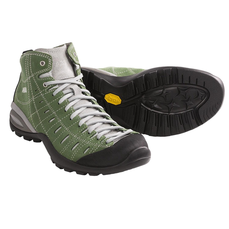 Asolo Iguana ML Hiking Shoes - Suede (For Women) in Hunter