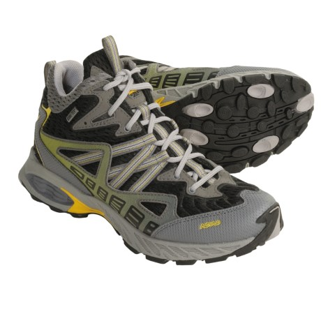 Asolo Jasper Gore-Tex® Trail Running Shoes - Waterproof (For Women) in Yellow/Black