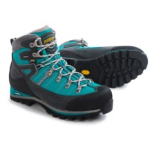 Asolo Karaj GV Gore-Tex® Hiking Boots - Waterproof (For Women) in Graphite/Peacock - Closeouts