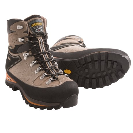 Asolo Khumbu GV Gore-Tex® Backpacking Boots - Waterproof (For Women) in Wool/Nicotine