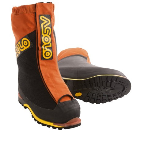 Asolo Made in Italy Campo Base Gore-Tex® Boots - Waterproof, Insulated (For Men) in Orange/Black