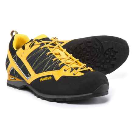 Asolo Magix Approach Shoes (For Men) in Black/Yellow - Closeouts