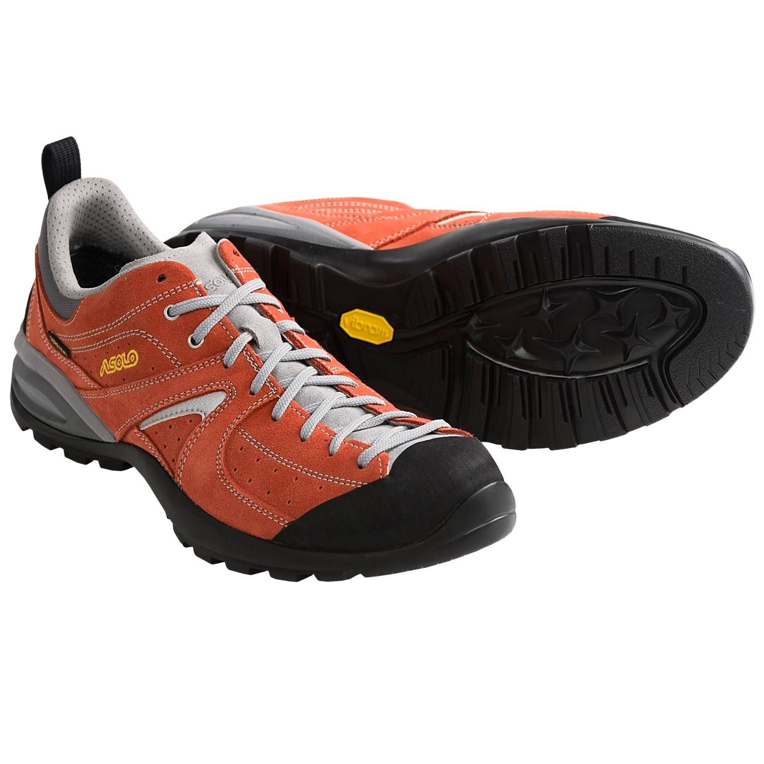 Red Asolo Climbing Shoes