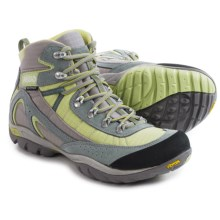 Asolo Mesita Hiking Boots - Waterproof (For Women) in Cloud Grey/Pistachio Green - Closeouts