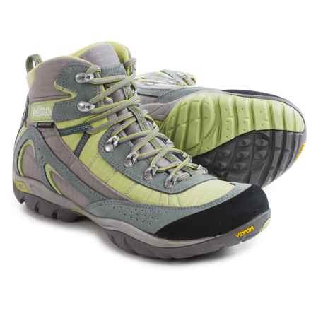 Asolo Mesita Hiking Boots - Waterproof (For Women) in Cloud Grey/Pistachio Green - Closeouts