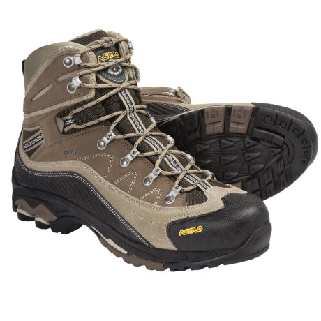 Asolo Moran Gore-Tex® Backpacking Boots - Waterproof (For Men) in Dark Sand/Nicotine