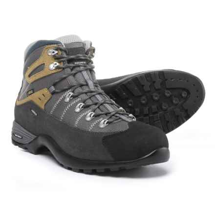 Asolo Mustang GV Gore-Tex® Hiking Boots - Waterproof (For Men) in Graphite/Stone - Closeouts