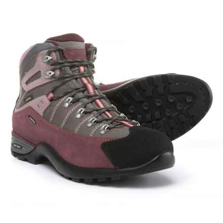 Asolo Mustang GV Gore-Tex® Hiking Boots - Waterproof (For Women) in Burgundy/Stone - Closeouts