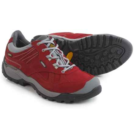 Asolo Nailix Gore-Tex® Hiking Shoes - Waterproof, Suede (For Women) in Scarlett - Closeouts