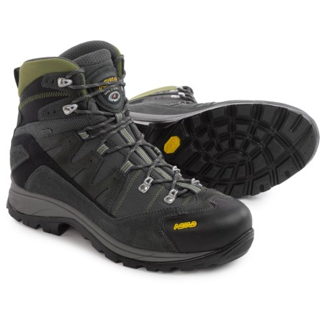 Asolo Neutron Gore-Tex® Hiking Boots - Waterproof (For Men) in Graphite/Dark Pear