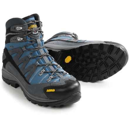 Asolo Neutron Gore-Tex® Hiking Boots - Waterproof (For Men) in Grey/Avio - Closeouts