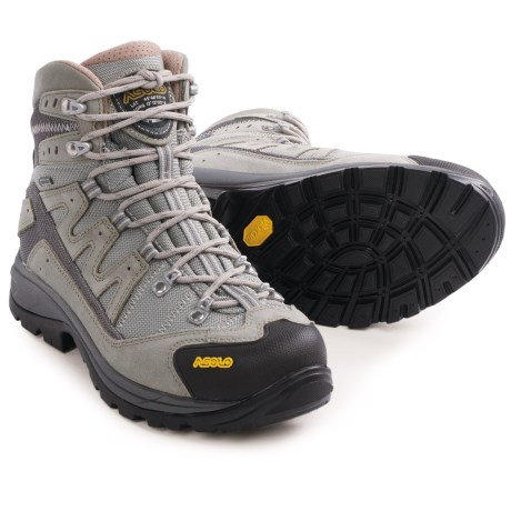 Asolo Neutron Gore-Tex® Hiking Boots - Waterproof, Suede (For Women) in Dust/Light Grey