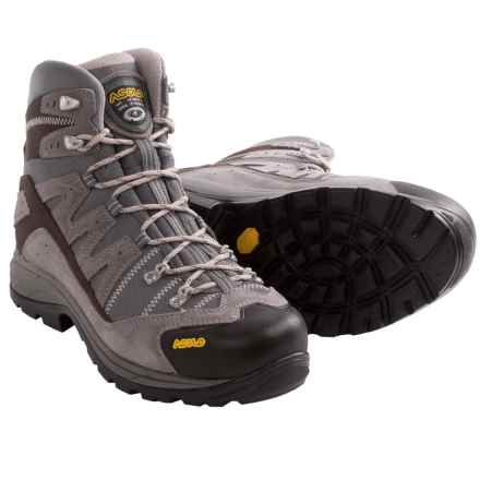 Asolo Neutron Hiking Boots (For Men) in Cendre/Stone - Closeouts