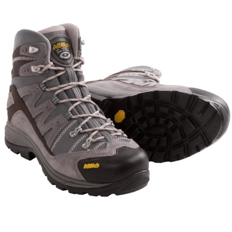Asolo Neutron Hiking Boots (For Men) in Cendre/Stone