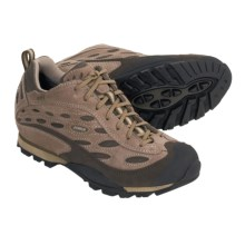 Asolo Omni GV Gore-Tex® Trail Shoes - Waterproof (For Women) in Cream/Major Brown - Closeouts