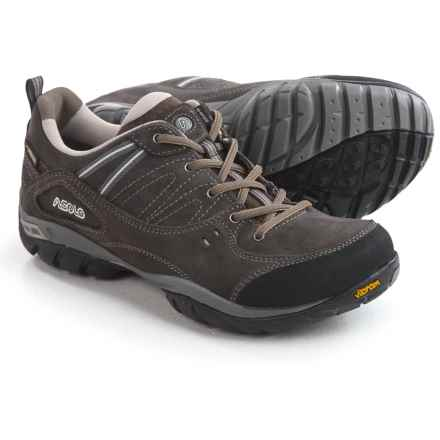 Asolo Outlaw Gore-Tex® XCR® Hiking Shoes - Vibram® Outsole (For Women) in Elephant - Closeouts