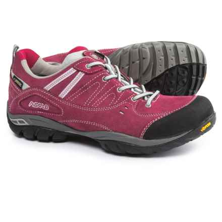Asolo Outlaw GV Gore-Tex® Hiking Shoes - Waterproof (For Women) in Red Bud - Closeouts
