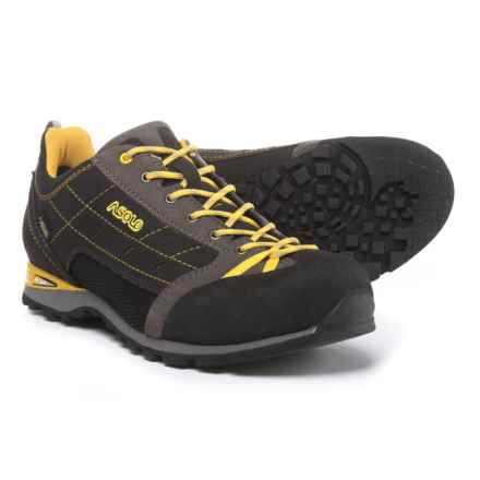 Asolo Path GV Approach Shoes - Waterproof (For Men) in Grey/Graphite - Closeouts