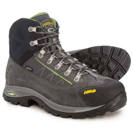 Asolo Patrol GV Gore-Tex® Hiking Boots - Waterproof (For Men) in Graphite/Gunmetal - Closeouts