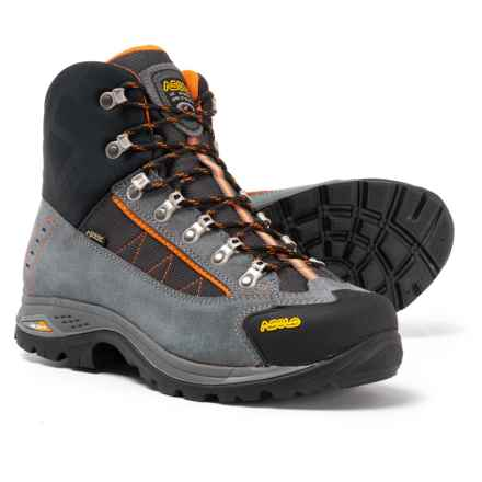 Asolo Patrol GV Gore-Tex® Hiking Boots - Waterproof (For Men) in Grey/Black - Closeouts