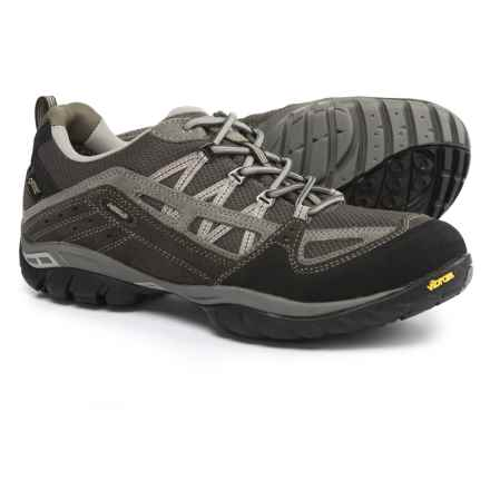 Asolo Plasmic GV Gore-Tex® Hiking Shoes - Waterproof (For Men) in Cendre/Anthracite - Closeouts