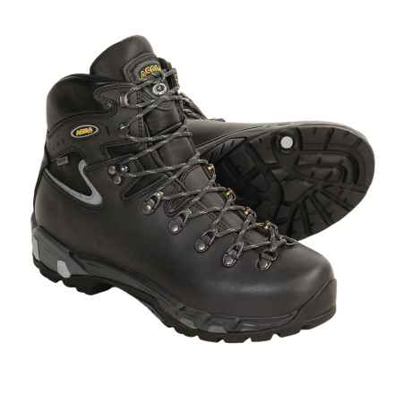 Asolo Power Matic 200 GV Gore-Tex® Backpacking Boots - Waterproof (For Men) in Dark Graphite/Grey - Closeouts