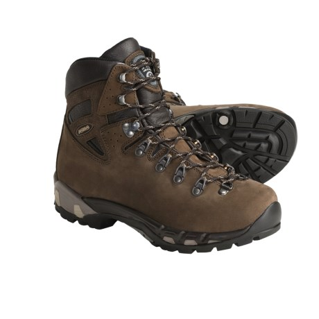 Asolo Power Matic 250 Backpacking Boots - Nubuck (For Women) in Dark Brown