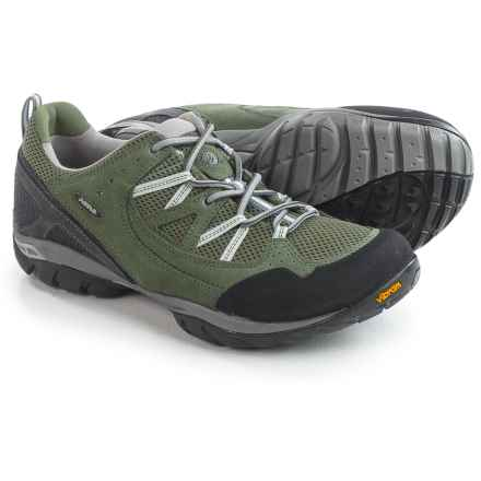 Asolo Quadrant Hiking Shoes - Suede (For Men) in Cypress - Closeouts
