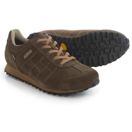 Asolo Quince Gore-Tex® Suede Hiking Shoes - Waterproof (For Men) in Dark Brown - Closeouts