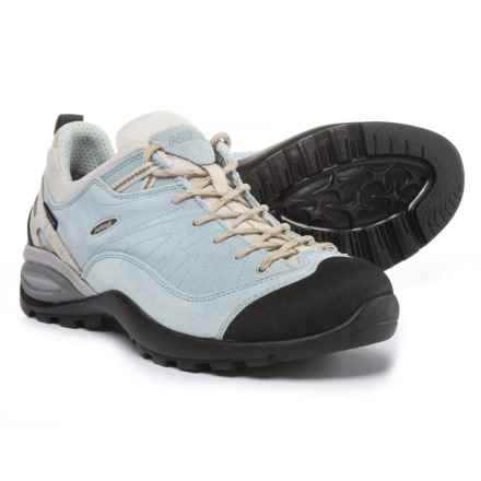 Asolo Rambla Hiking Shoes - Waterproof (For Women) in Arctic Blue/Pearl - Closeouts