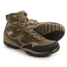 Asolo Reston WP Hiking Boots - Waterproof, Suede (For Men) in Dark Brown/Brown - Closeouts