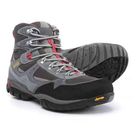 Asolo Reston WP Hiking Boots - Waterproof, Suede (For Men) in Grey/Graphite - Closeouts