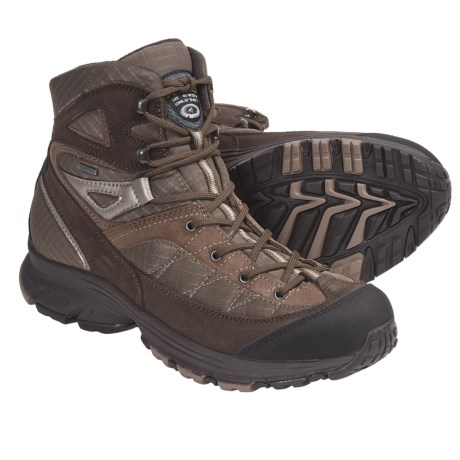 Asolo Ride Gore-Tex® Hiking Boots - Waterproof (For Women) in Graphite/Aquifer